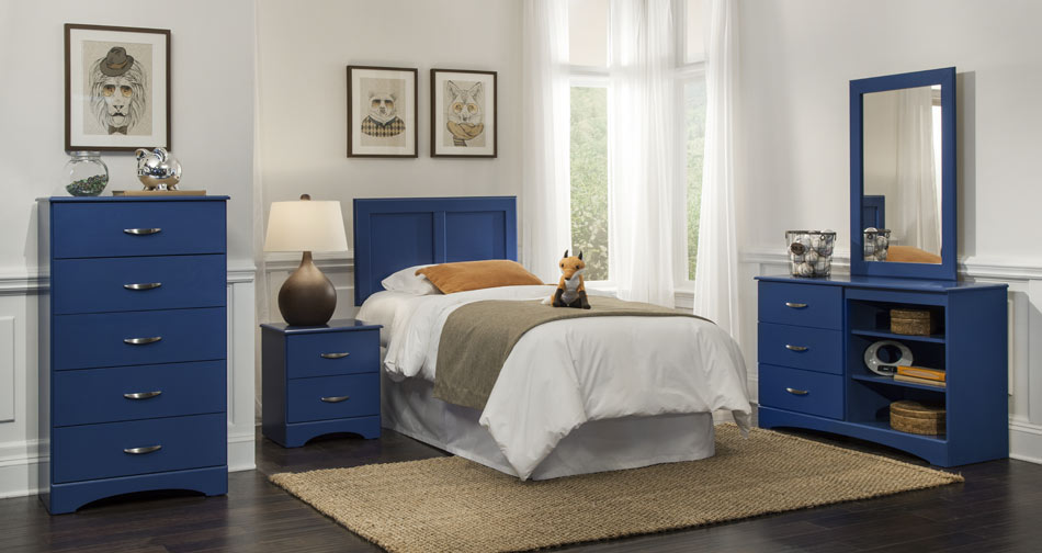 Childrenu0027s Bedroom Set U2013 Blue