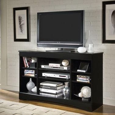 Ordinaire Entertainment Console 48u2033 Black
